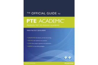 The Official Guide to the Pearson Test of English Academic New Edition Pack