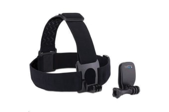 GoPro Head Strap + QuickClip       - Compatible with All GoPro Camera Models