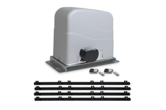 LockMaster Automatic Sliding Gate Opener Electric 1200kg 4M Remote Control