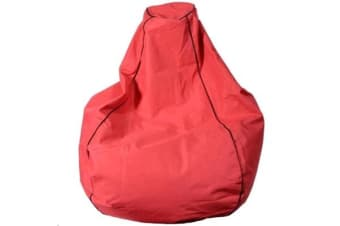 Croxley Bean Bag - 200L Filled Prem Outdoor - Kura Red Pre-filled so you can get comfy straight