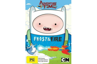 ADVENTURE TIME - FROST & FIRE + SLAMACOW - Rare- Aus Stock DVD PREOWNED: DISC LIKE NEW