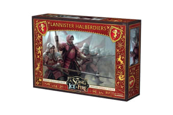 A Song of Ice and Fire TMG - Lannister Halberdiers