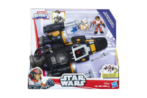 Playskool Heros Poe's Boosted X-Wing Fighter