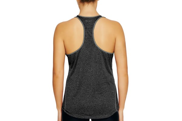 Champion Women's PowerTrain Heather Tank - Black (Size S)