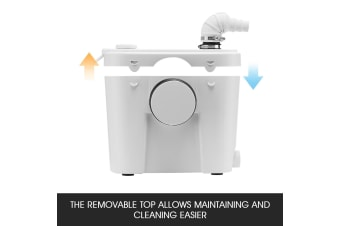 400W Macerator Sewerage Pump Domestic Waste Water Bathroom Toilet Sink Disposal