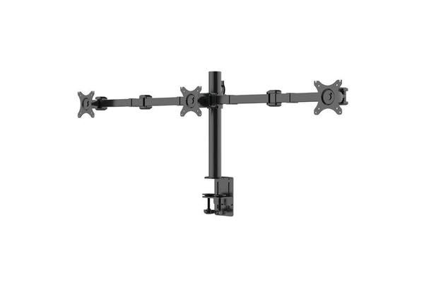 "Loctek 10""-30"" DLB113 Triple Monitor Ergonomic Swivel Arm VESA 75 & 100mm"