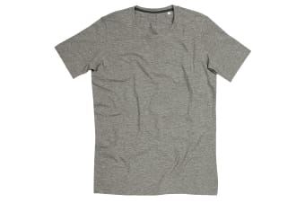 Stedman Stars Mens Clive Crew Neck Tee (Heather Grey)