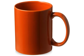 Bullet Santos Ceramic Mug (Pack of 2) (Orange) (9.7 x 8.2 cm)
