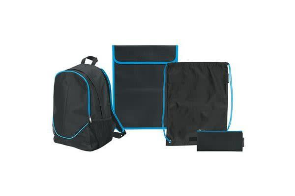 Warwick School Backpack Bonus Pack Blue Black
