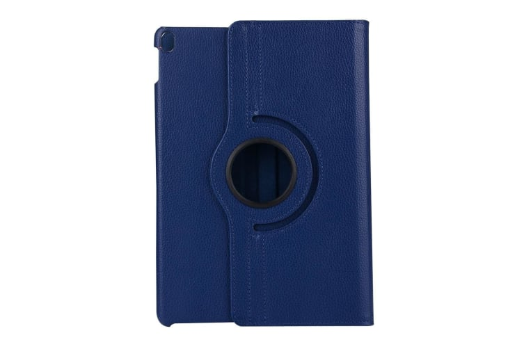 For iPad Pro 11 Inch (2018) Case Lychee Texture PU Leather Folio Cover Navy