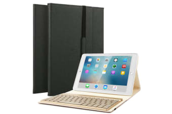 Backlit ipad Keyboard Case Cover For ipad 9.7-Black