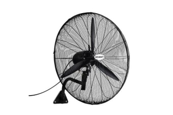 Devanti Industrial Wall Mounted Fan (Black)