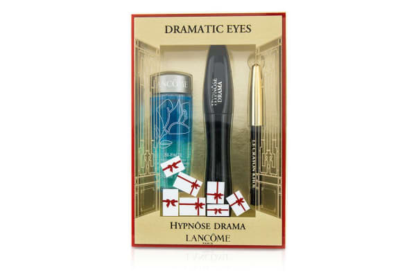 Lancome Hypnose Dramatic Eyes Kit: 1x Hypnose Drama Mascara 6.5ml/0.23oz + 1x Mini Le Crayon Khol 0.7g/0.02oz + 1x Bi Facil 30ml/1oz (3pcs)