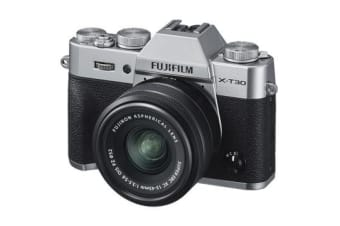 New Fujifilm X-T30 Mirrorless 26MP (15-45mm) Digital Camera Silver (FREE DELIVERY + 1 YEAR AU WARRANTY)