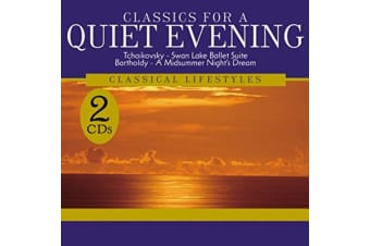 Classics for a Quiet Evening 2 Discs BRAND NEW SEALED MUSIC ALBUM CD - AU STOCK