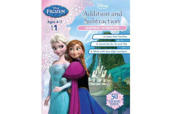 Frozen - Addition and Subtraction (Disney: Learning Workbook, Level 1)