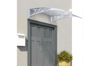 1x3M Window Door Awning Canopy in Clear Color