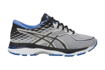 ASICS Men's Gel-Cumulus 19 Running Shoe (Grey/Black/Directoire Blue)