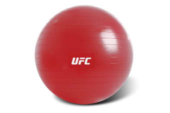 UFC 65cm ECO-friendly Fitball Exercise Ball Fitness/Crossfit/Gym w/ Pump Red