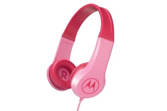 Motorola Kids Headphones (Pink)