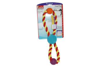Petstages Good Tug Cotton Rope Dog Toy (Multicoloured) (One Size)