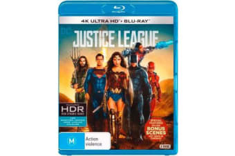 Justice League (4K UHD/Blu-ray)