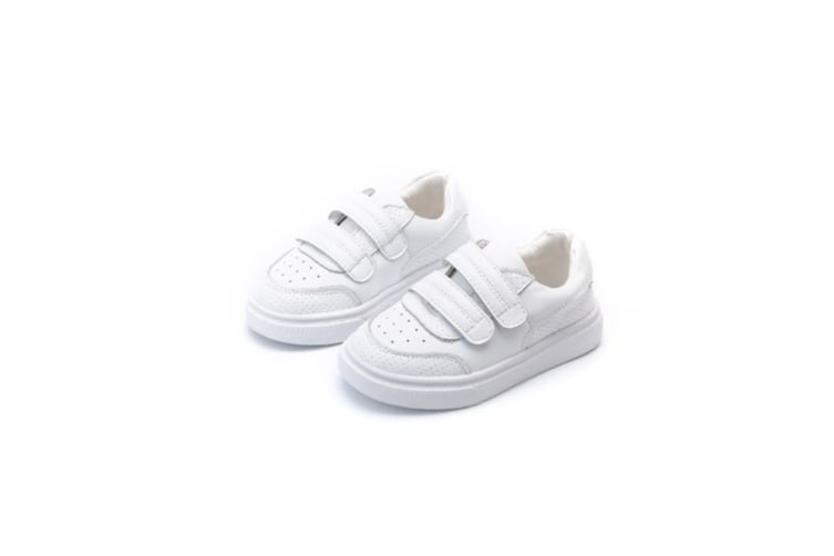 Boy'S Girl'S Fashion Sports Sneaker Breathable White Shoes White 31