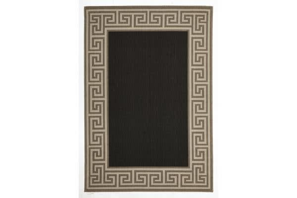 Adonis Charcoal Outdoor Rug 220X150cm