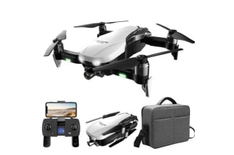 F8 GPS 2K RC Drone Smart Follow Optical Flow Fixed Point Surround Brushless Quadcopter with Bag(Flight time: 23-27min)