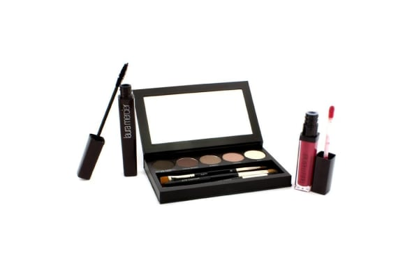 Laura Mercier Nude Smoky Eye Palette Collection (1xMascara, 1xLip Glace, 1xCake Eye Liner, 4xEye Colour, 3xBrush) (10pcs)