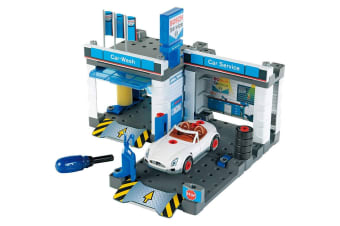 Bosch Service Car Repair Station and Carwash