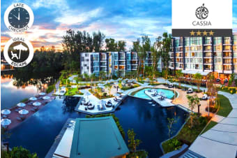 PHUKET: 7 Nights at Cassia Phuket for Two or Three