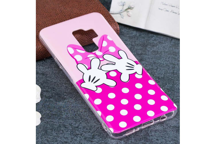 For Samsung Galaxy S9 PLUS Back Case Butterfly Hands Durable Pattern Cover