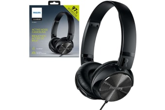 Philips SHL3850NC Active Noise-Cancelling ANC Foldable Headphones for Smartphone