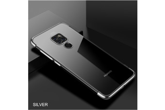 Soft Transparent Tpu Cover Ultra Thin Clear Shell For Huawei Silver Huawei P20
