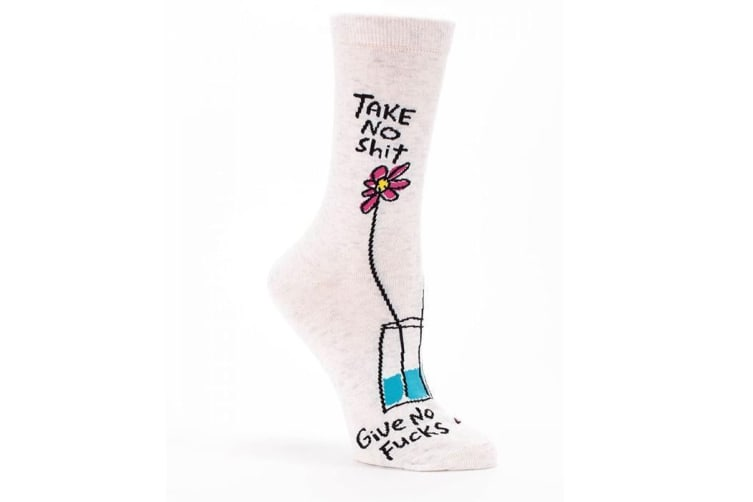 Socks For People Who Don`t Give A F#ck - Women`s size 5-10