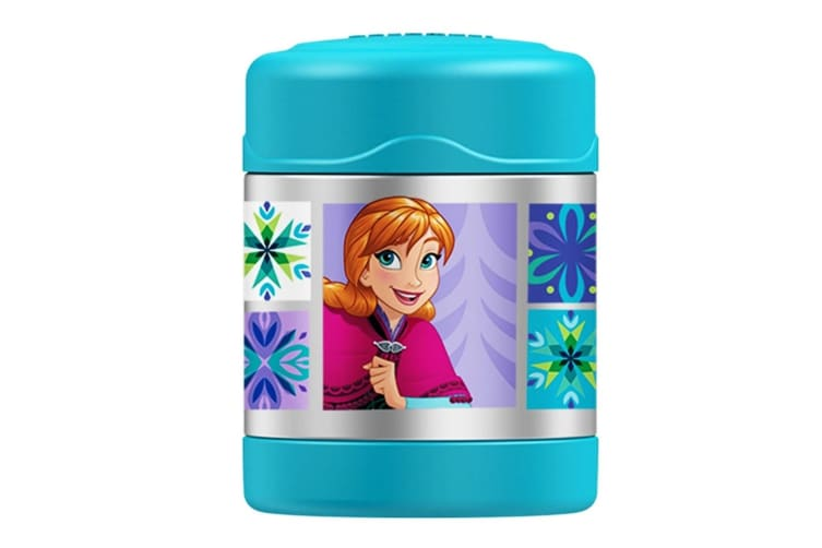 Thermos Funtainer Stainless Steel 290ml Food Container - Frozen Blue