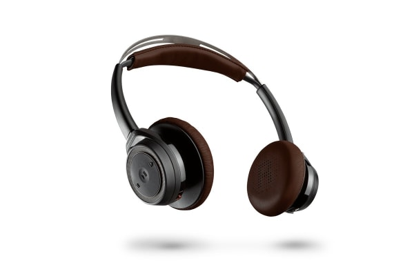 Plantronics BackBeat Sense Wireless Headphones (Black/Brown)