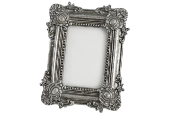 Hill Interiors Antique Silver Rectangular Photo Frame (Silver) (One Size)