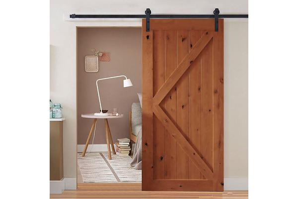 2m Sliding Barn Door Hardware Track Kit Bd1001 Kogancom