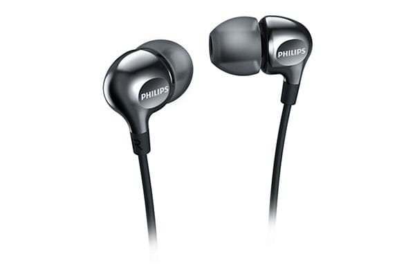 Philips In-Ear Gel Headphones - Black (SHE3700BK)