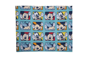 Mickey Mouse Play Fleece Blanket (Multicoloured) (One Size)