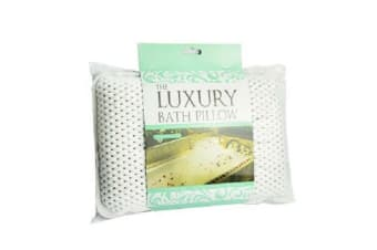 Luxury Waterproof Non-Slip Spa Bath Soft Pillow Luxury Cushion Suctions