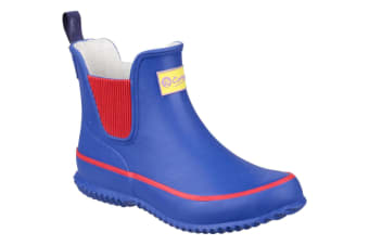 Cotswold Childrens/Kids Bushy Wellington Boots (Blue) (30 EUR)