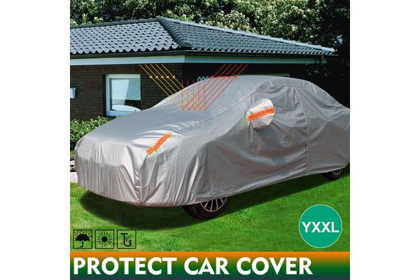 Double Thick Waterproof UV Dust Protection Car Cover YXXL