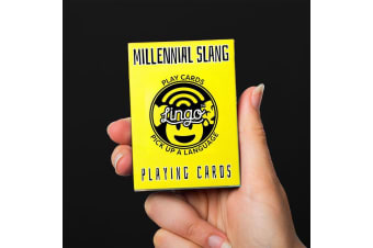 Millennial Slang Playing Cards | Funny Novelty Gift