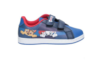 Paw Patrol Childrens/Kids Chase and Marshall Touch Fastening Trainers (Navy/Blue)