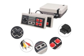 Select Mall Mini Classic FC Red and White Machine Retro Nostalgic Double Home TV Game Console-4