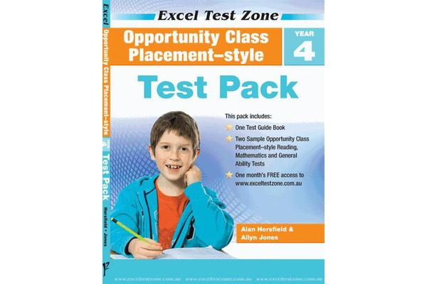 Opportunity Class Placement-style Test Pack - Year 4