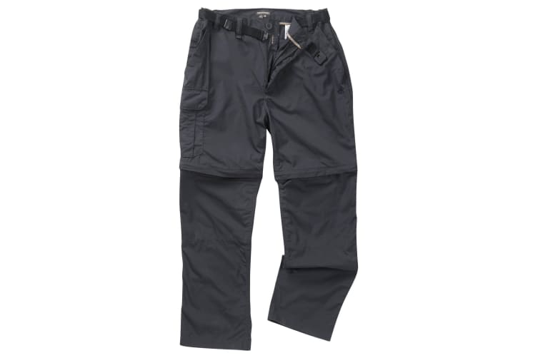 Craghoppers Outdoor Classic Mens Kiwi Convertible Trousers (Dark Navy) (38L)
